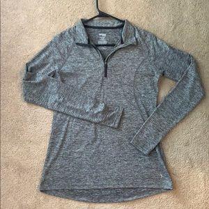 Long sleeve quarter zip (work out)